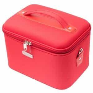 Кейс для парикмахерских инструментов Harizma красный 28x21x22 см h10514-03M