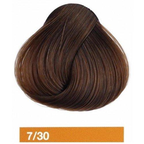 Купить крем-краску Lakme Collage 7/30, средний блондин золотистый 27301