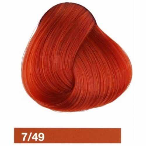 Крем-краска Lakme Collage 7/59, cредний блондин махагоново-красный 27591