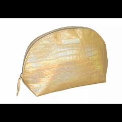 Косметичка Hairway Gold 21х8х15 см 32434