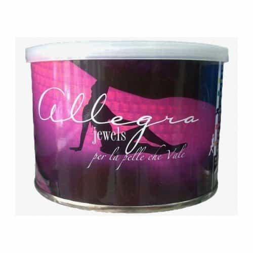 Воск в банках Allegra jewels розовый титаниум 400 г 20660007