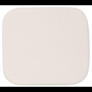 Губка для нанесения макияжа Eurostil, белая, квадратная 01409