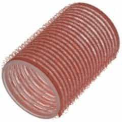 Бигуди Sibel на липучке, розовые, 43 мм 6 шт. 4165049