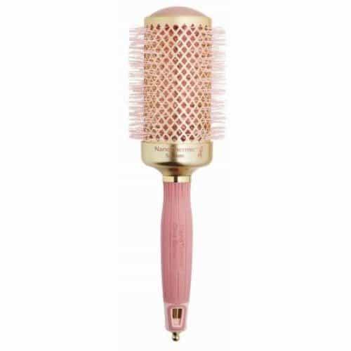 Термобрашинг Olivia Garden NanoThermic, керамический + ион 54 мм розовое золото