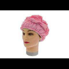 Шапочка для душа-химии Sibel пластиковая розовая 508123306