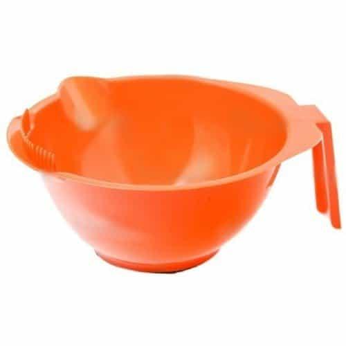 Миска для окрашивания Harizma оранжевая, 310 мл h10816