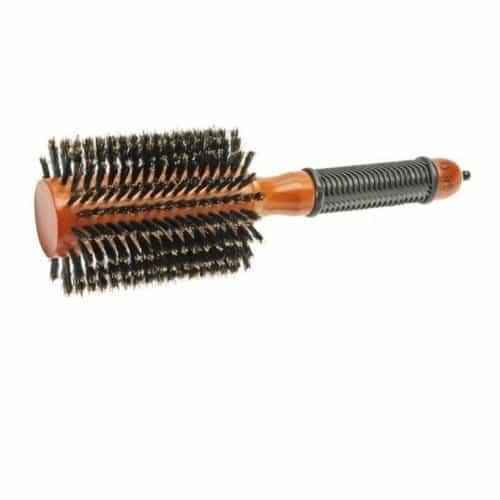 Брашинг для укладки волос Sibel натуральная щетина, 78 мм 8458352