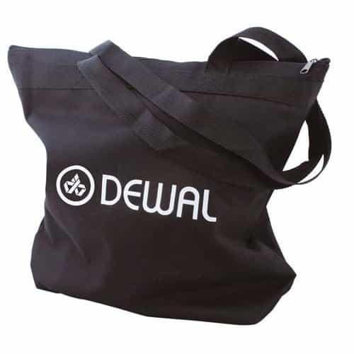 Сумка для парикмахерских инструментов Dewal, полимерный материал, черная 43/44 см C6-18