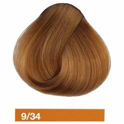Крем-краска Lakme Collage 9/34, светлый блондин золотисто-медный 29341