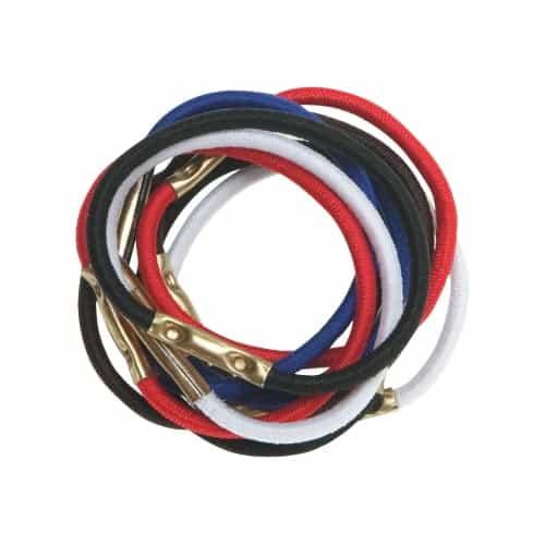 Резинки для волос Dewal, цветные, mini 10 шт/уп RE026
