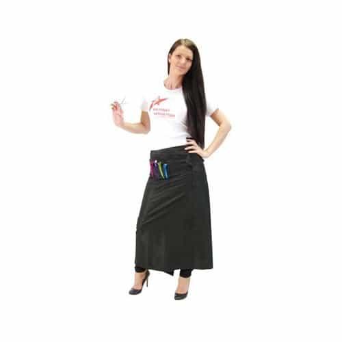 Фартук-юбка HairWay полиэстер, черный 38072