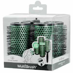 Набор брашингов для укладки волос Olivia Garden MultiBrush 56 мм 4 шт со съемной ручкой в комплекте