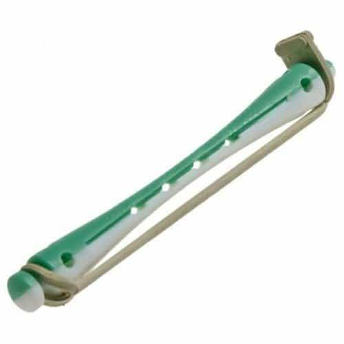 Коклюшки Sibel для химзавивки длинные, бело-зеленые 12 шт. 4500339