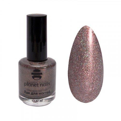 Лак для ногтей Planet Nails, голография, 222, 17 мл 14922