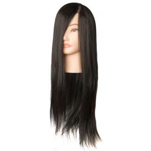 Голова учебная Harizma, брюнетка, искусственные волосы, 50-60 см h10821
