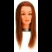 Голова учебная Sibel Mixed Synthetic, шатенка, искусственные волосы, 30-40 см 0030051