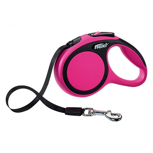 Поводок-рулетка для собак Flexi New Comfort XS 3 м ремень