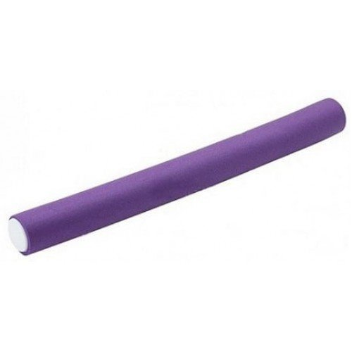 Бигуди-бумеранги Harizma фиолетовые, 20x210 мм 10 шт. h10982-20
