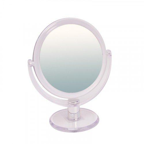 Зеркало Titania, двухстороннее на ножке, 160 мм 18159