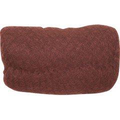 Валик для прически Dewal, искусственный волос+сетка, рыжий 18x11 см HO-PC Red Brown