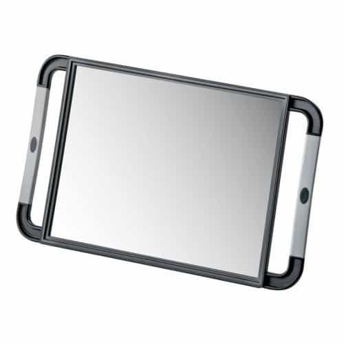 Зеркало заднего вида HairWay, прямоугольное, черное 13008-02