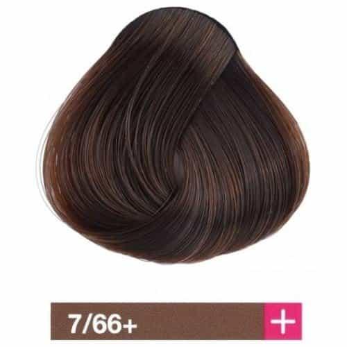 Крем-краска Lakme Collage+ Intense 7/66+, средний блондин, интенсивный коричневый яркий 27661