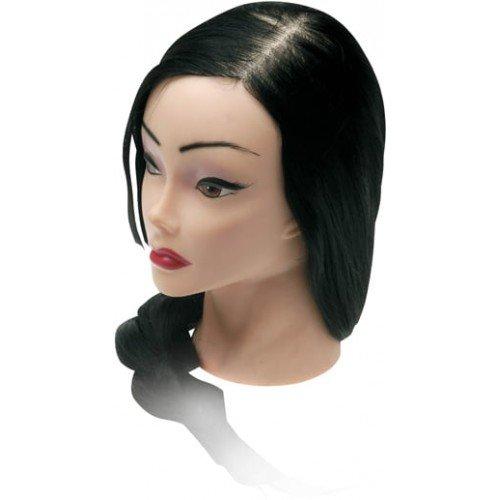 Голова учебная Dewal, брюнетка, протеиновые волосы 50-60 см FI-2022XL-401