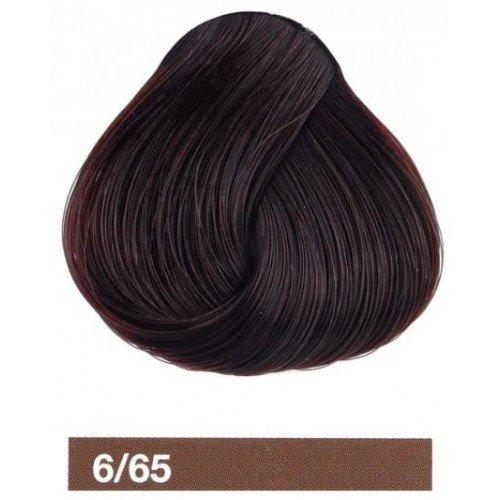 Крем-краска Lakme Collage 6/65, темный блондин коричнево-махагоновый 26651