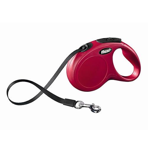 Купить Поводок-рулетка для собак Flexi New Classic S 5 м ремень