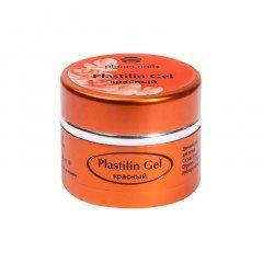 Гель-пластилин Planet Nails, Plastilin Gel, красный, 5 г 11282