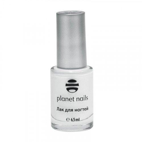 Лак Planet Nails, для Stamping Nail Art, белый, 01 30001