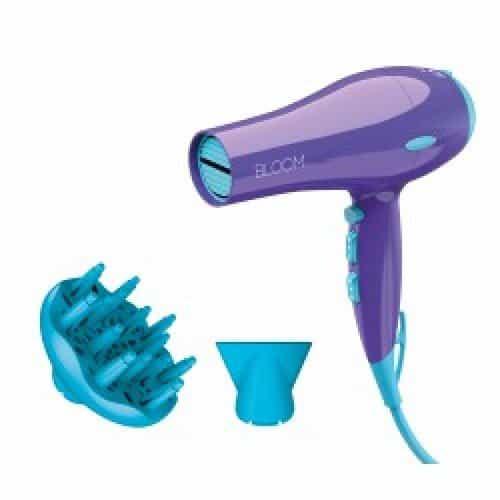 Фен для волос Ga.Ma Bloom Eleganza фиолетовый с ионизацией 2000 Ватт GH1804