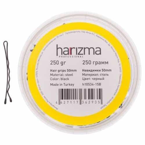 Невидимки Harizma 50 мм волна 250 гр черные h10534-15B