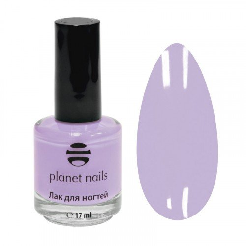 Лак для ногтей Planet Nails, с эффектом гелевого покрытия, 866, 17 мл 14866