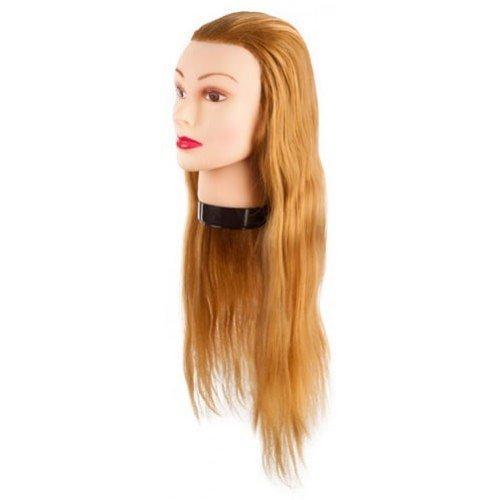 Голова учебная Eurostil, блондинка, протеиновые волосы, 55-60 см 02545