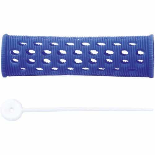 Бигуди пластиковые Dewal синие, 20 мм, 12 шт/уп RMHR4
