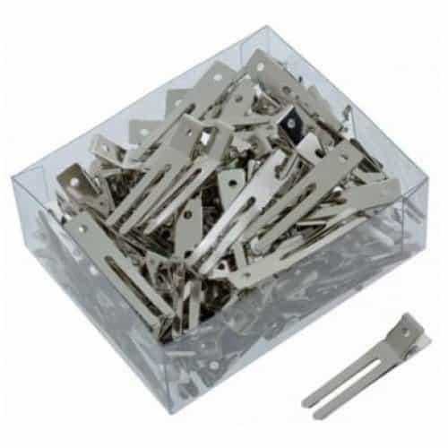 Зажимы Sibel металлические маленькие 100 шт. 9340237