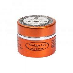Гель-паста для чеканки Planet Nails, Vintage Gel, old silver, 5 г 11276