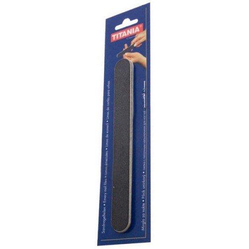 Пилка для ногтей Titania 3 шт черная 18 см 120/180 1031/3