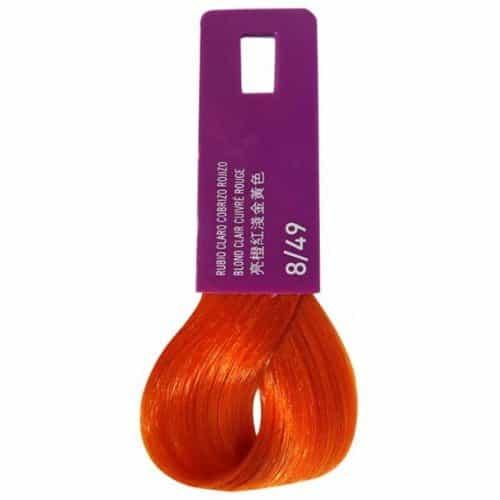 Тонирующая крем-краска Lakme Gloss Color Rinse 8/49, светло-белокурый медно-красный с красноватым оттенком 38491