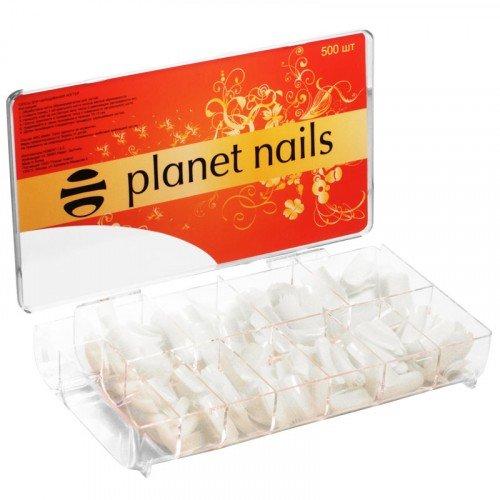 Типсы Planet Nails, 500 шт в упаковке, №1-10 17001