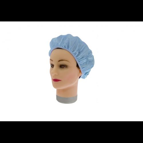 Шапочка для душа-химии Sibel пластиковая голубая 508063303