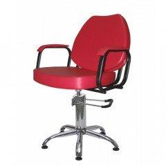 Кресло гидравлика Имидж Мастер Соло, красное, 3022 Skaden, 1,45 К-СЛ3