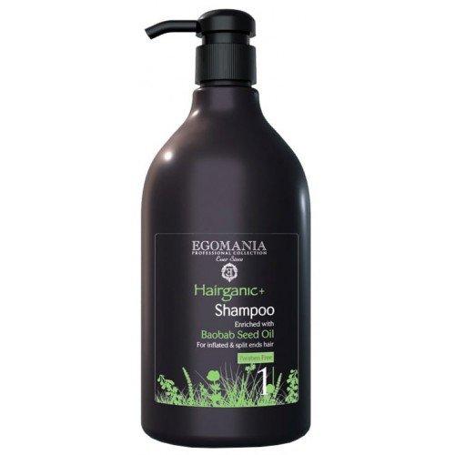 Шампунь Egomania Professional Hairganic+ (1000 мл) 1640165