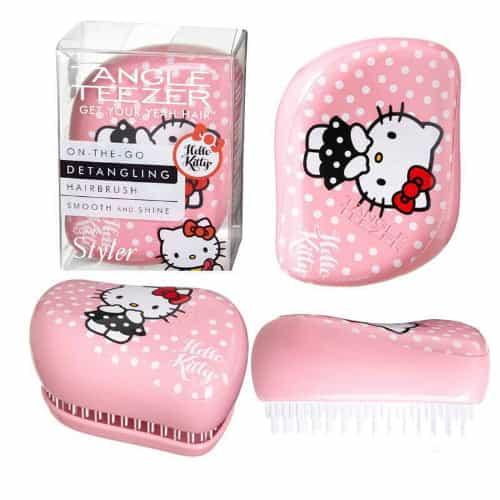 Расческа Tangle Teezer Compact Styler (Hello Kitty Pink (розовый/кошечки))