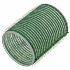 Бигуди Sibel на липучке, зеленые, 48 мм 6 шт 4165549