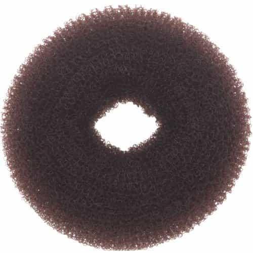 Валик для прически Dewal, сетка, коричневый, диаметр 8 см HO-5116 Brown