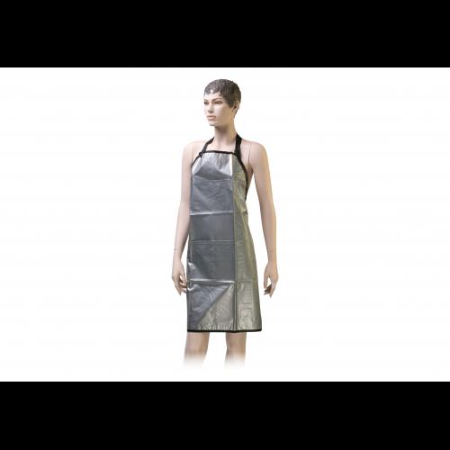 Фартук мастера Dewal для окрашивания, ПВХ, серебристый 67x86 см BV00018