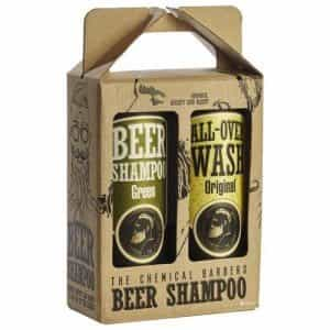 Набор The Chemical Barbers Beer Shampoo Gift Set Argan шампунь + гель для душа 2x440мл TCB21