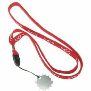 Ключ для регулировки натяжения полотен ножниц, на ленте TS